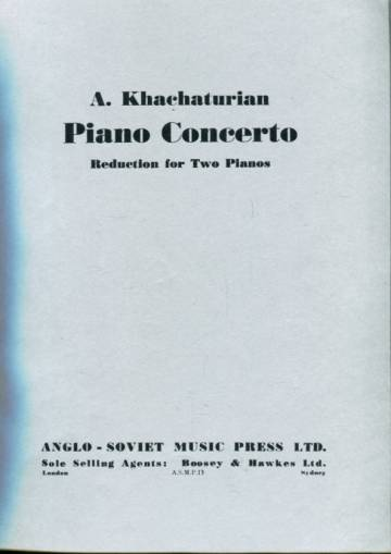 Piano Concerto - Reduction for Two Pianos