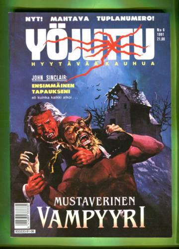 Yöjuttu 6/91 - Mustaverinen vampyyri