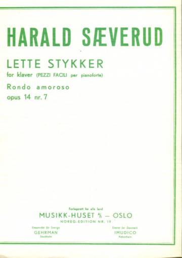 Lette stykker for klavier (Pezzi facili per pianoforte), Rondo amoroso, opus 14 nr. 7