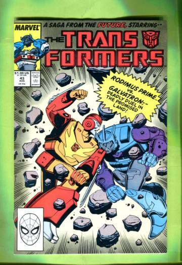 The Transformers Vol 1 #43 Aug 88