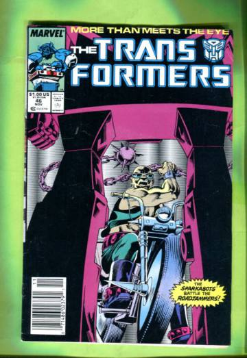 The Transformers Vol 1 #46 Nov 88