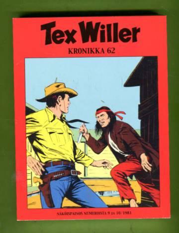Tex Willer -kronikka 62 - Vieras Elk Cityssä & Salaperäinen saari