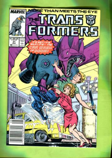 The Transformers Vol 1 #31 Aug 87