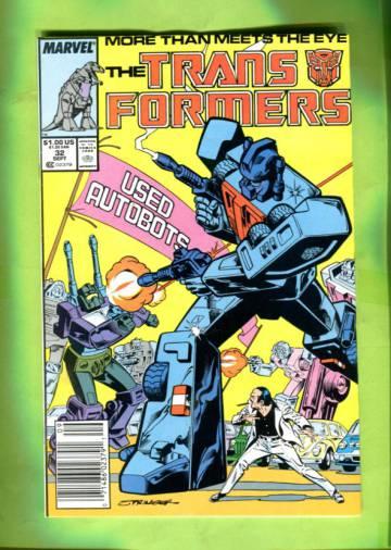 The Transformers Vol 1 #32 Sep 87