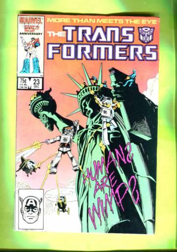 The Transformers #23 Dec 86