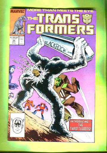 The Transformers #30 Jul 87