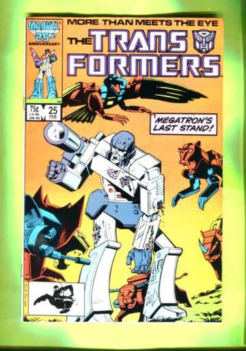 The Transformers #25 Feb 87