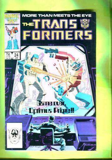 The Transformers #24 Jan 87