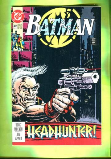 Batman #487 Dec 92