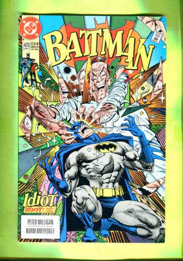 Batman #473 Jan 92