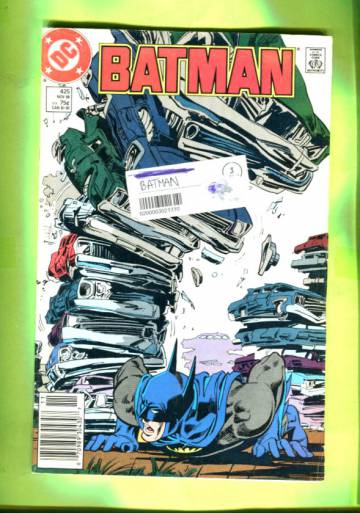 Batman #425 Nov 88