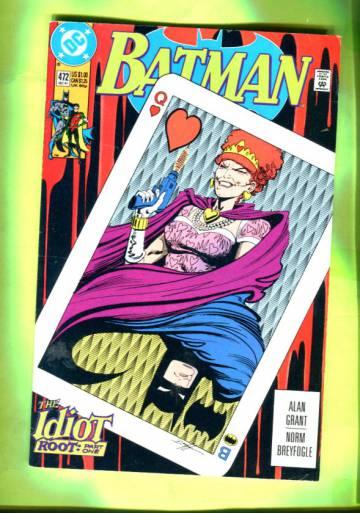 Batman #472 Dec 91