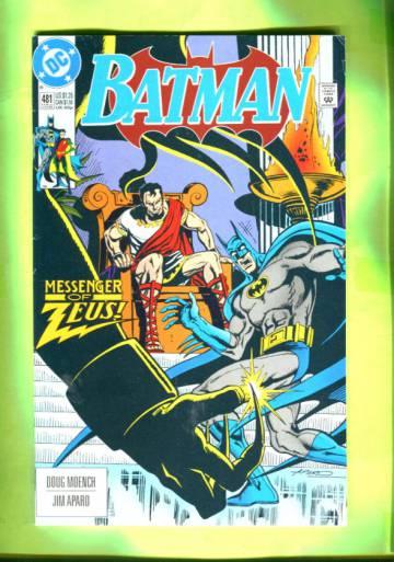 Batman #481 Ear Jul 92