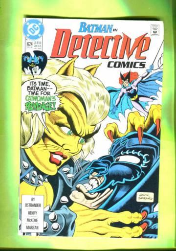 Detective Comics #624 Dec 90