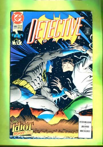Detective Comics #640 Jan 92