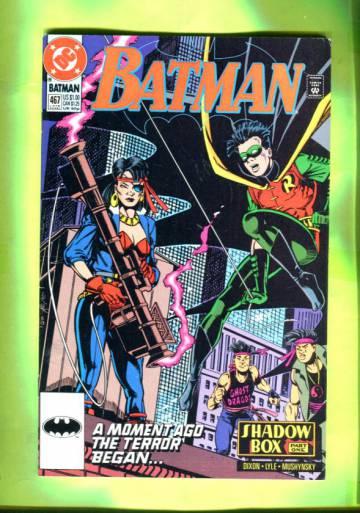Batman #467 Late Aug 91