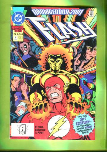 Flash Annual #4 1991