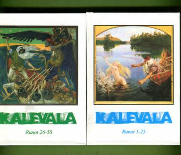 Kalevala - Karjalais-suomalainen Kansaneepos: Runot 1-50