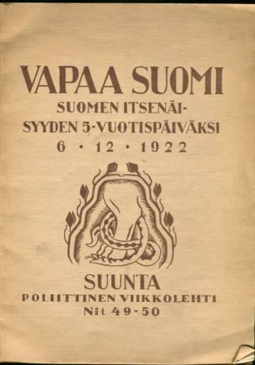 Suunta - Poliittinen viikkolehti 49-50/22