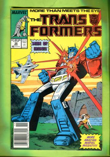 The Transformers Vol 1 #34 Nov 87