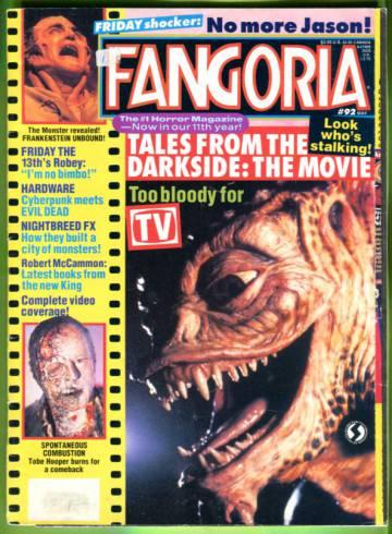 Fangoria #92 May 90