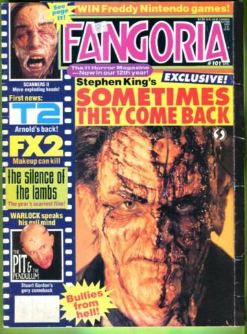 Fangoria #101 Apr 91