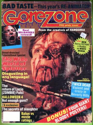 Gorezone #5 Jan 89