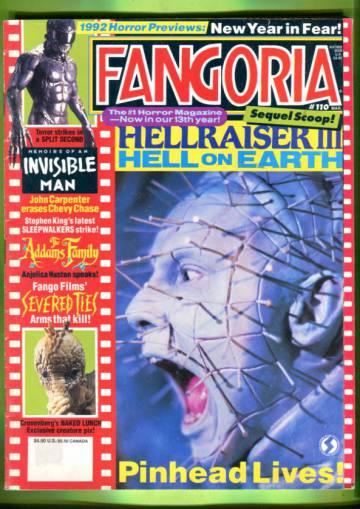 Fangoria #110 Mar 92