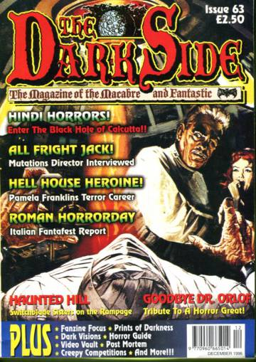 The Dark Side - The Magazine of the Macabre and Fantastic #63 Dec 96