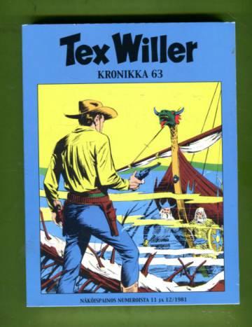 Tex Willer -kronikka 63 - Salaperäinen saari & Kuoleman kvartetti
