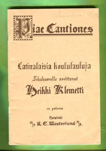 Piae Cantiones - Latinalaisia koululauluja