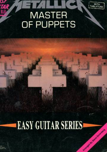 Metallica: Master of Puppets - Easy Guitar Series