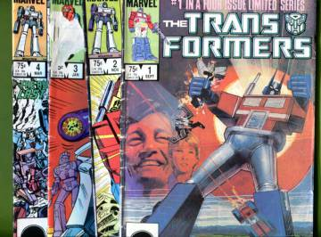 The Transformers Vol 1 #1-4 Sep 84 -Mar 85 (Four issue limited series)