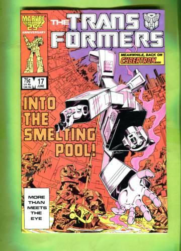 The Transformers #17 Jun 86
