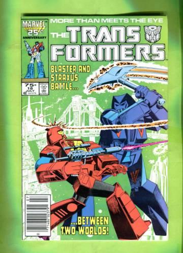 The Transformers #18 Jul 86