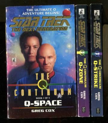 Star Trek - The Next Generation: The Q Continuum 1-3