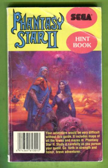 Phantasy Star II - Hint Book