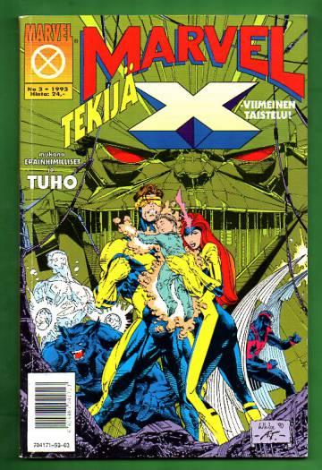 Marvel 3/93 - Tekijä-X