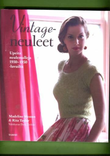 Vintageneuleet - Upeita neulemalleja 1930-1950-luvuilta filmitähtien tyyliin