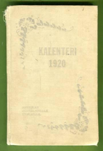 Kalenteri Amerikan suomalaiselle työväelle - 1920