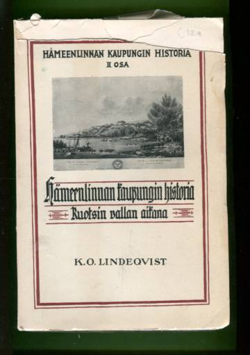 Hämeenlinnan kaupungin historia 2 - Kaupungin historia Ruotsin vallan aikana