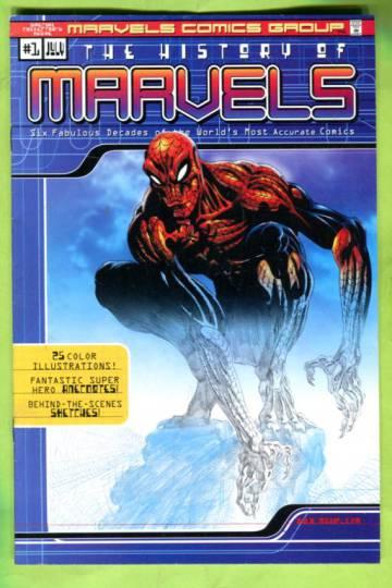 The History of Marvels Vol 1 #1 Jul 00