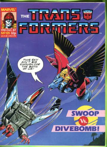 Transformers #135 Oct 87