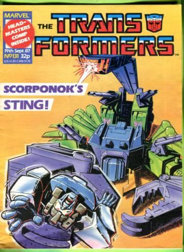 Transformers #131 Sep 87