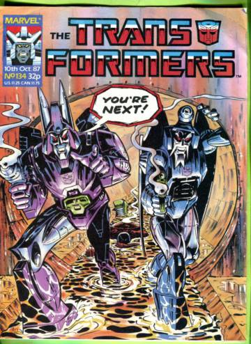 Transformers #134 Oct 87