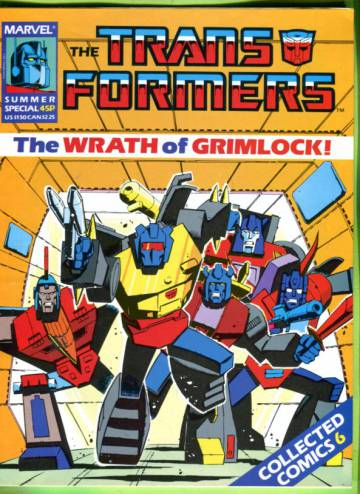 Transformers Special - Collected Comics #6 May 87
