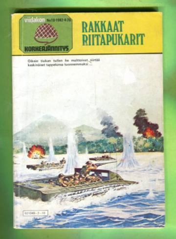Viidakon Korkeajännitys 10/82 - Rakkaat riitapukarit