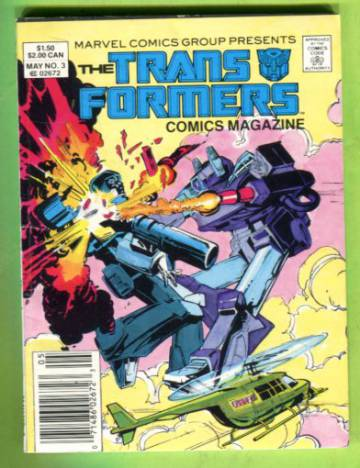 The Transformers Comics Magazine Vol 1 #3 May 87