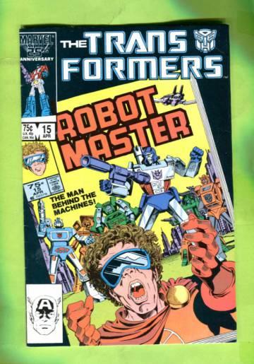 The Transformers Vol 1 #15 Apr 86