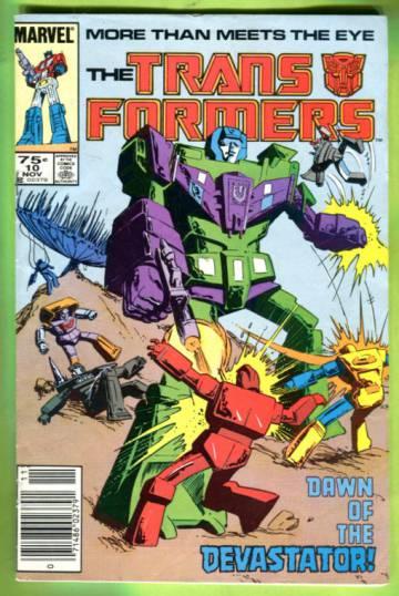 The Transformers Vol 1 #10 Nov 85